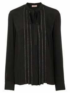 Twin-Set stud detail blouse - Black
