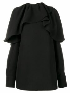 Valentino ruffled blouse - Black