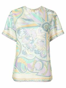 Emilio Pucci printed T-shirt blouse - Multicolour