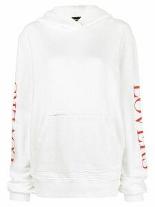 Amiri Lovers hoodie - White