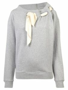 Y/Project scarf neck jumper - Grey