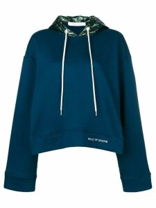 Walk Of Shame boxy hoodie - Blue