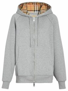 Burberry Vintage Check hoodie - Grey