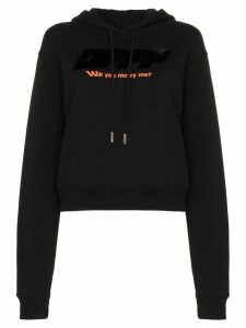 Off-White Will You Marry Me? hoodie - Black