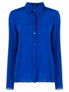 Isabel Marant long-sleeve fitted shirt - Blue