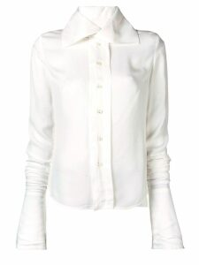 Vivienne Westwood oversized collar shirt - White
