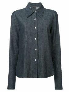Adam Lippes long-sleeve denim shirt - Blue