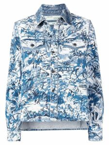 Off-White tapestry shirt - Blue