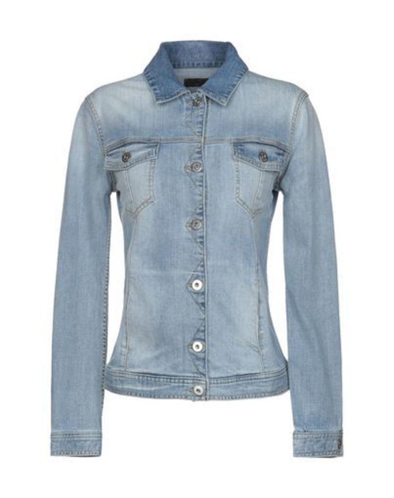 REBEL QUEEN DENIM Denim outerwear Women on YOOX.COM