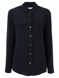 Equipment slim signature shirt - Black