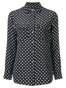 Equipment polka dot shirt - Black
