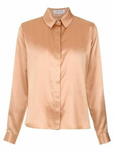 Gloria Coelho silk classic shirt - Brown