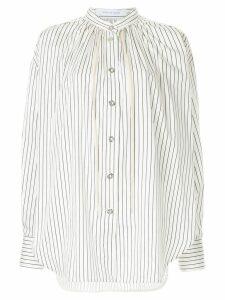 Walk Of Shame striped shirt - White