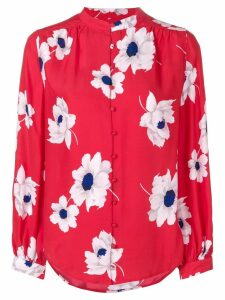 Equipment floral pattern shirt - Red