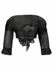 Ermanno Scervino off-the-shoulder blouse - Black