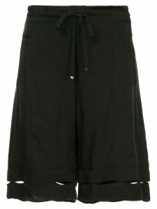 Taylor Bartacked degree shorts - Black