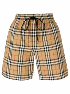 Burberry vintage check shorts - Multicolour