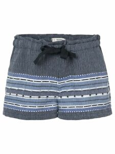 Lemlem embroidered details shorts - Blue