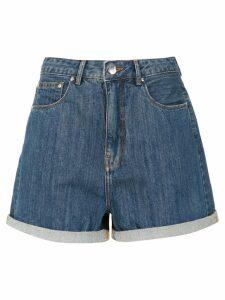 Amapô Mom jeans shorts - Blue