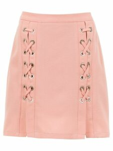 Olympiah lace up Messina skirt - NEUTRALS
