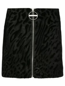Givenchy zipped mini skirt - Black