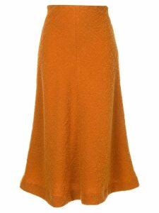 Muller Of Yoshiokubo flared midi skirt - Yellow