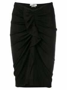 Isabel Marant Étoile Joca jersey skirt - Black