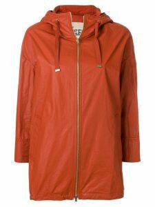 Herno hooded parka coat - Red