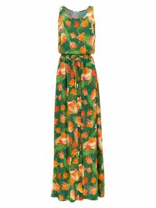 Isolda Rebeca long dress - Green