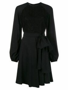 Giambattista Valli flowy mini dress - Black