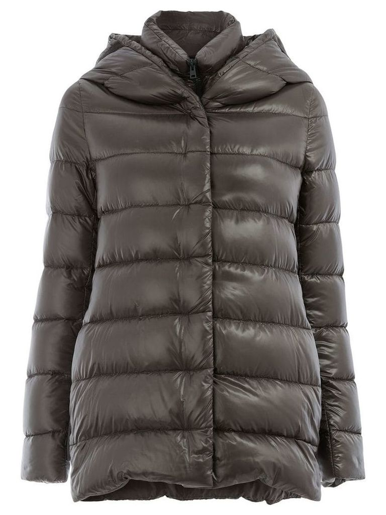 Herno hooded padded jacket - Grey