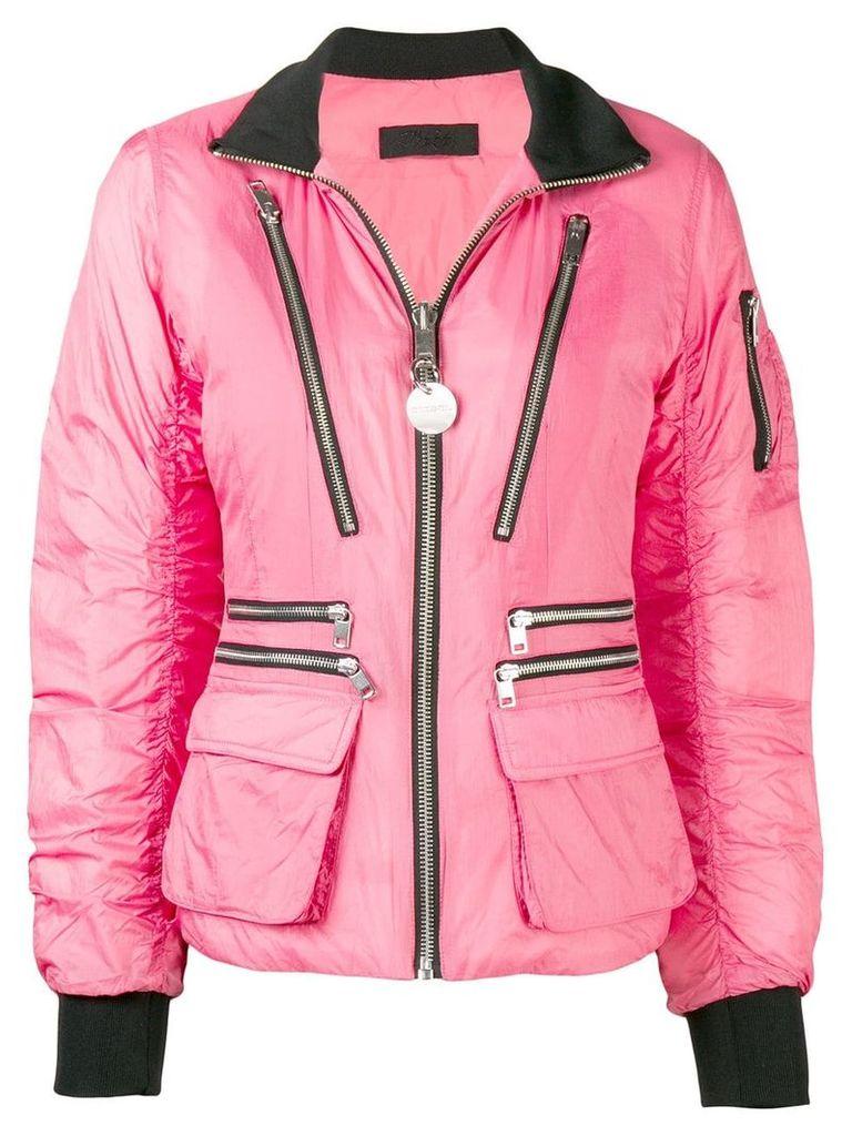 Diesel W-BLANKYT puffer jacket - Pink & Purple