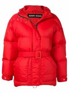 Ienki Ienki oversized puffer jacket - Red