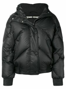 Ienki Ienki hooded puffer jacket - 02 BLACK
