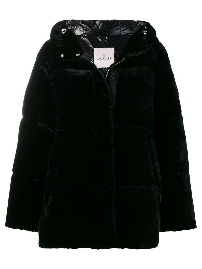 Moncler oversized padded jacket - Black