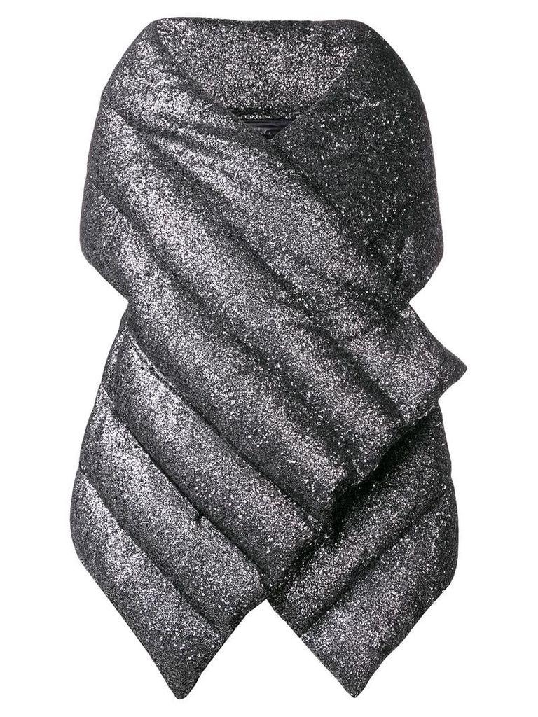 Herno puffer wrap jacket - Grey