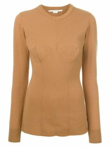 Stella McCartney crew neck sweater - NEUTRALS