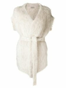 Bottega Veneta wrap cardigan - NEUTRALS