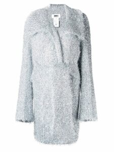 Mm6 Maison Margiela sparkle knit cardigan - Grey