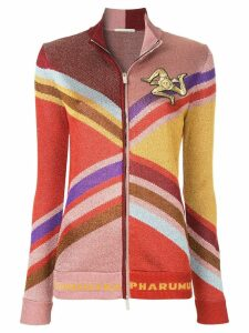 Marco De Vincenzo colour block zipped cardigan - Multicolour