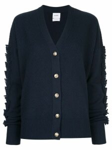 Barrie fringed detailed cardigan - Blue