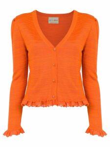 Andrea Bogosian knit cardigan - Orange