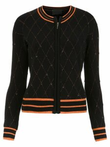 Andrea Bogosian embroidered cardigan - Black