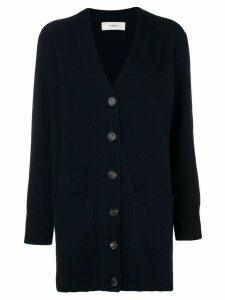 Pringle Of Scotland buttoned knit cardigan - Blue