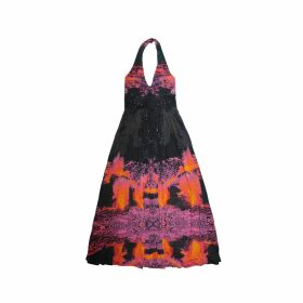 CocooVe - Edith Baroque Printed Top With Tie Waist