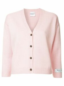 We11done classic cardigan - PINK