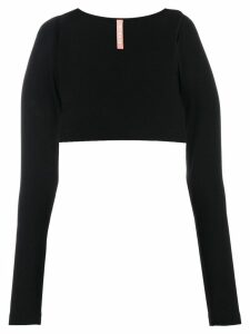 No Ka' Oi basic shrug - Black