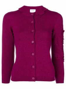 Barrie Bright Side cashmere cardigan - PINK