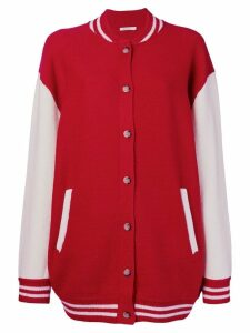 Mes Demoiselles Slater buttoned cardigan - Red