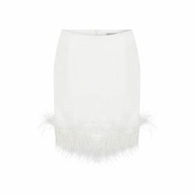 Klements - Square Scarf In Bialowieza Forest Deep Mauve